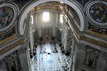 Wnętrza Bazyliki Św. Piotra - Watykan