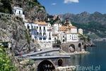 Atrani Wybrzeże Amalfi - Kampania - Włochy