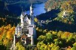 XIX-wieczny zamek Neuschwanstein (Niemcy)