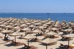 Piękna, piaszczysta plaża w Złotych Piaskach