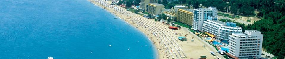 Złote Piaski to najpopularniejszy kurort Bułgarii