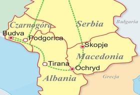 Albania - Macedonia - Czarnogóra - Serbia - egzotyczne Bałkany