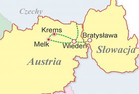 Austria, Słowacja - Wiedeń i okolice