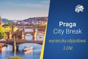 Bajeczna Praga z Morawskim Krasem jako labirynt zalesionych wzgórz