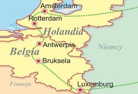 Belgia - Holandia - Luksemburg - podbój Beneluxu