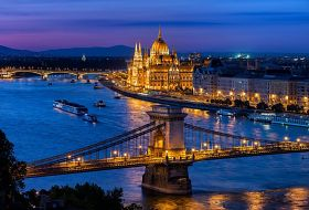 Budapeszt, Wiedeń i Praga