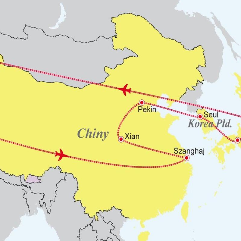 Chiny - Korea Pd. - Japonia: Trzy tygrysy Azji