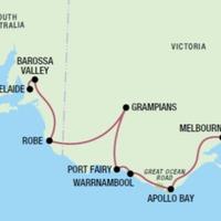 Droga nad oceanem - zwiedzanie Australii
