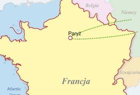 Francja, Luksemburg - Disneyland i Asterix - Paryż na wesoło