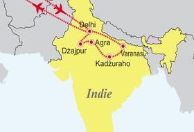 Indie: Pięć pereł Indii