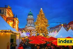 Jarmark Bożonarodzeniowy Berlin i Tropical Island z noclegiem w Hotelu Ibis Budget BB