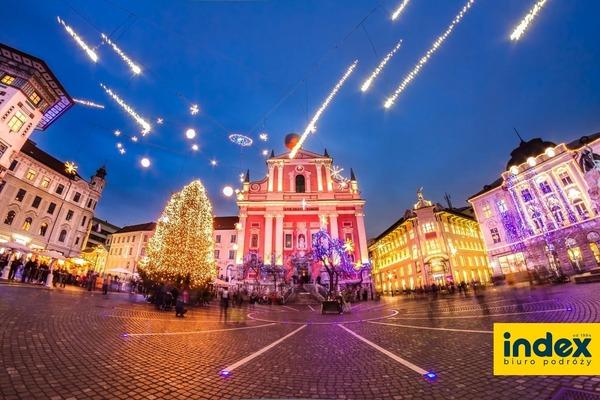 Jarmark Bożonarodzeniowy Lublana Express