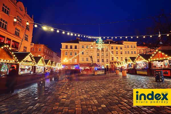 Jarmark Bożonarodzeniowy Lwów Express