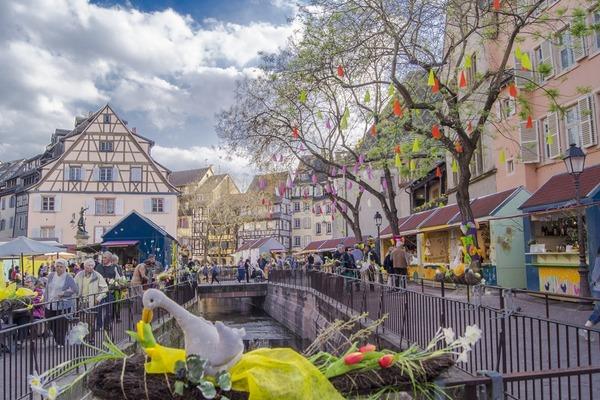 Jarmark Wielkanocny Strasburg+Colmar