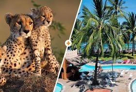 Kenijskie trio + Bamburi Beach