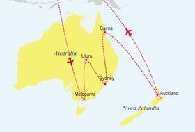 Nowa Zelandia - Australia: Po drugiej stronie Ziemi
