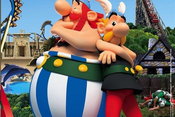 Paryż + Disneyland + Asterix