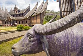 Pejzaże Sumatry - zwiedzanie Indonezji, Singapuru
