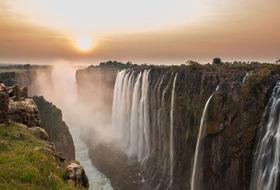 Piaski Kalahari Namibia, Botswana, Zimbabwe