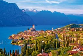 Pocztówka znad Gardy - zwiedzanie Włoch