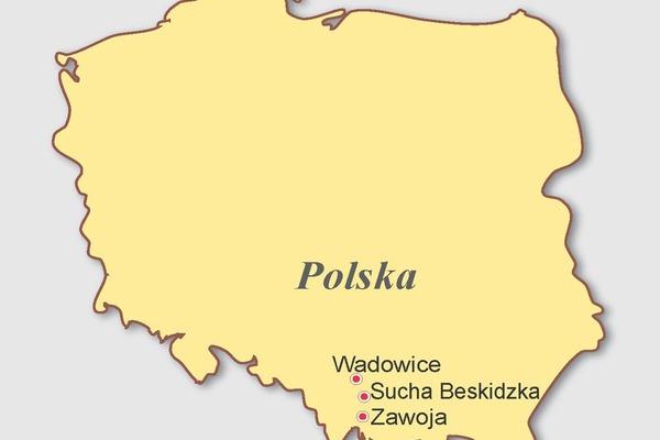 Polska, Słowacja - Przez Małopolskę na Orawę