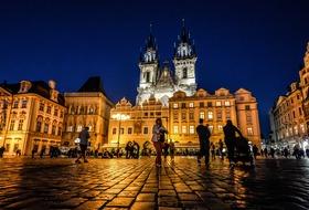 Praga - festiwal światła