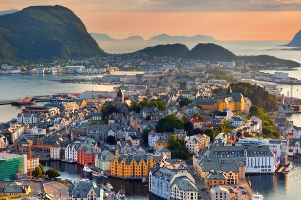 Rejs po norweskich fiordach - Fiordy Północy