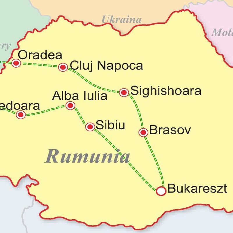 Rumunia - Perły Karpat