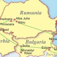 Serbia - Bułgaria - Turcja - Rumunia - Czarnomorskie skarby