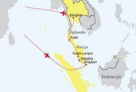 Singapur, Malezja, Tajlandia - Tercet egzotyczny