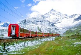 Szwajcaria i Włochy - Koleje Retyckie