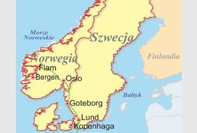 Szwecja, Norwegia, Dania - Kraina fiordów