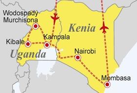 Uganda, Kenia - Dwie czarne perły