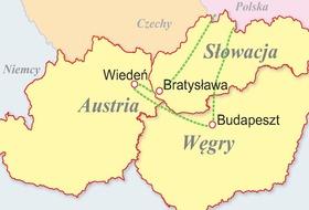 Węgry, Austria, Słowacja - Trzy stolice