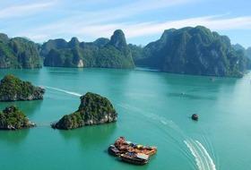 Wietnam - wśród tarasowych pól