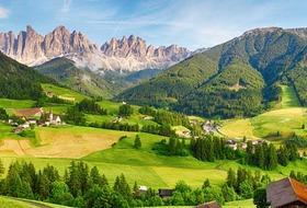 Wokół Alp - Europejskie cuda natury